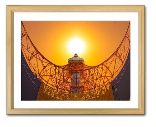 The sun and Tokyo Tower(太陽と東京タワー)