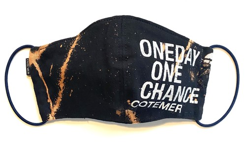 【COTEMER マスク 日本製】ONE DAY ONE CHANCE BLEACH MASK 0517-108