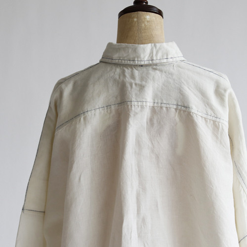 LINEN&COTTON Big Shirts