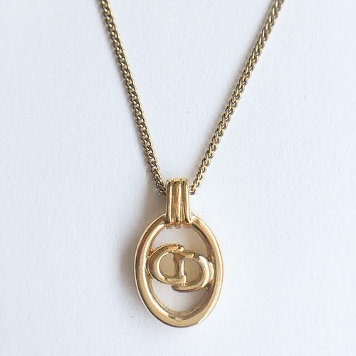 """""""Dior"""" oval necklace[n-220]"""