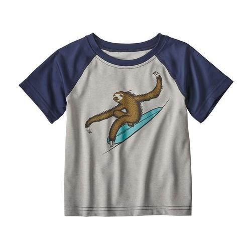 パタゴニア ベビー・キャプリーン・シルクウェイト Tシャツ ( DFTG) キッズ パタゴニア