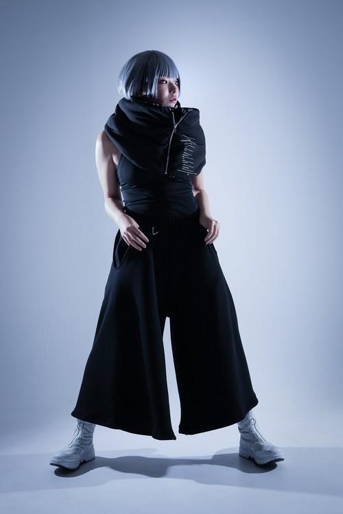 Δ-asyl 『Raver Pants TYPE-β』black