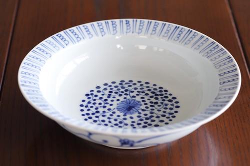 古代唐草 6寸かぶと鉢 作:井手國博・与志郎窯(有田焼)