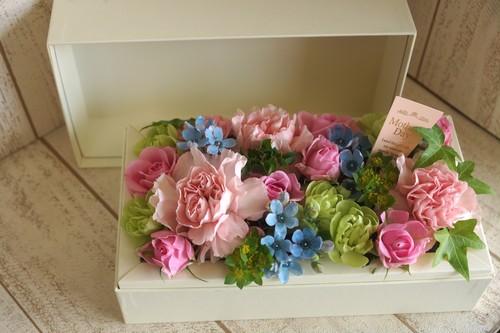 【5月は母の月!5月11日以降お届け商品】Mother Box【マザーボックス:白】ピンク