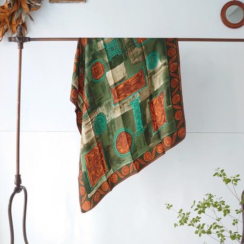 vintage scarf fs-2335