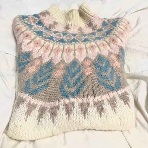 Nordic volume knit