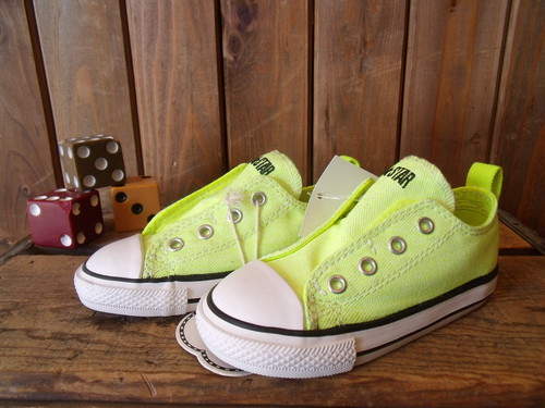 CONVERSE★【CHILD ALL STAR】< SLIP OX>