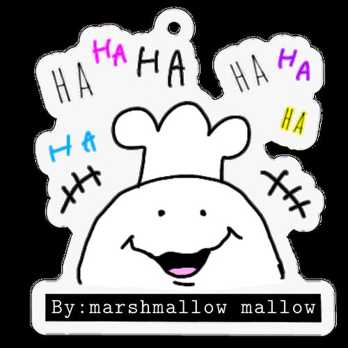 キーホルダー marshmallow mallow