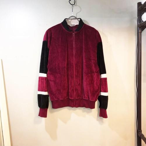 old Dior velours track jacket