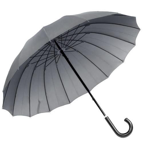 耐風傘16本骨傘 煌(きらめき) ブルーグレー