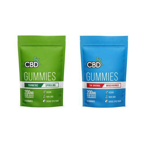 高濃度CBDグミ・CBDfx(CBD25mg / 粒 × 8粒)