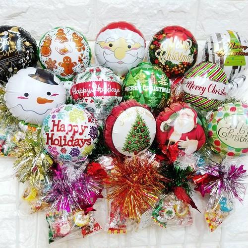 クリスマスバルーンキャンディー付