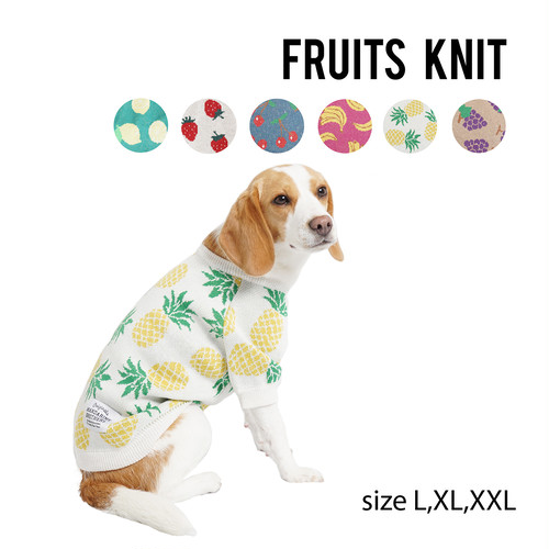 FRUITS KNIT(L,XL,XXL) フルーツニット