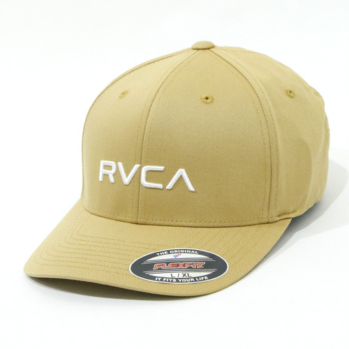 【RVCA】RVCA FLEX FIT (BEIGE)