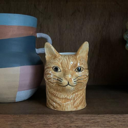 ペンスタンド Quail Ceramics社(茶トラ猫 Vincent)