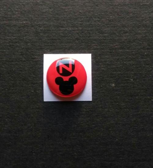 HONDA N-BOX N-ONE N/ キーホールカバー 鍵穴隠し 丸Nマウスバージョン