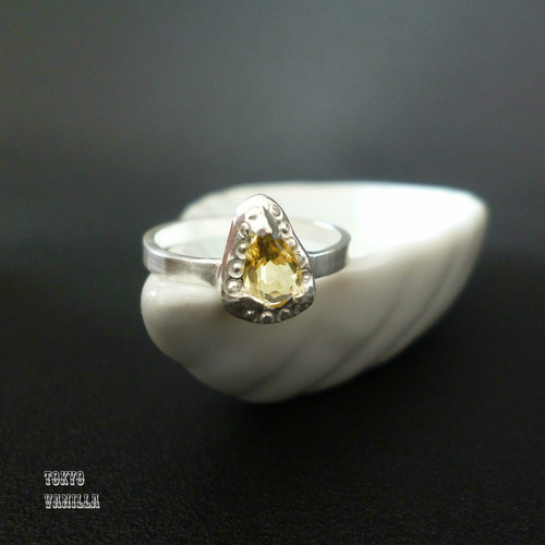 Antique ring - silver #002