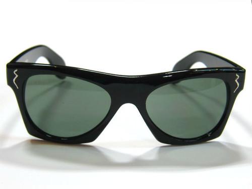 "Shady Spex ""New York Night Train"" sunglasses, Shiny Black"