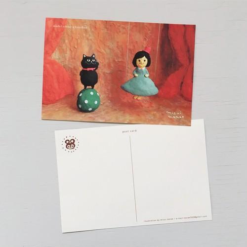 ポストカード(黒猫サーカス)