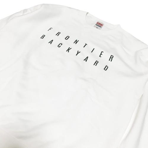 FBY LOGO SWEAT White【受注生産商品】