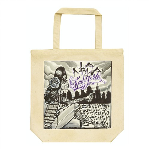 DEAR HOMEGIRL Tote Bag <ANGEL DIAZ DESIGN>