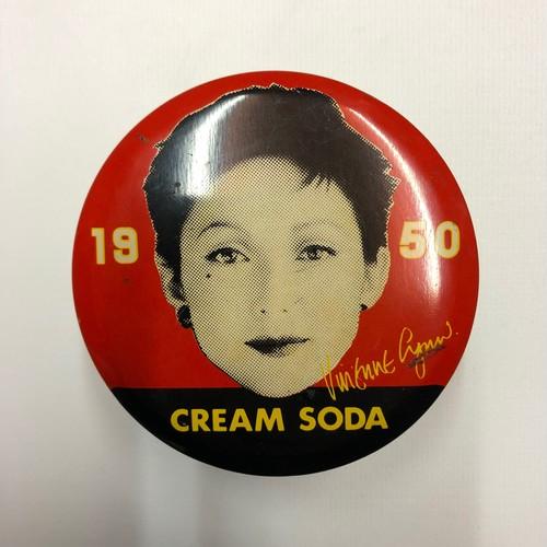 ④CREAM SODA クリームソーダ 1950 空ポマード缶 ロカビリーロックンロールROCK