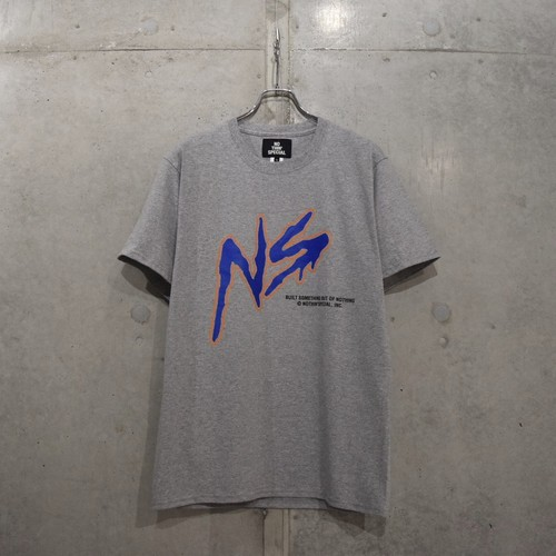 NOTHIN'SPECIAL NS SQUAD TEE / HEATHER GRAY