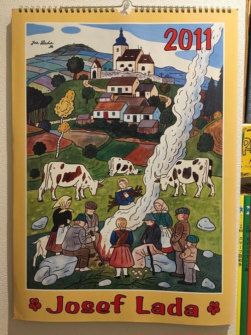 ヨゼフ・ラダ 2011年カレンダー / Josef Lada
