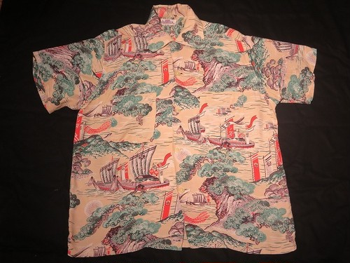 50's CAMPUS HAWAIIAN Shirt