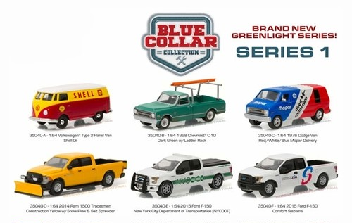 1/64 MOPAR Delivery - 1976 Dodge Van in Red, White and Blue