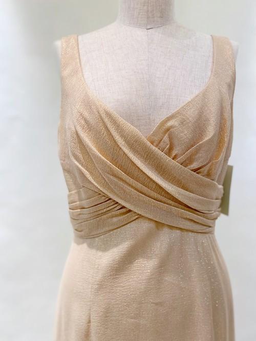 E-69 David Meister / Metallic Tank Dress
