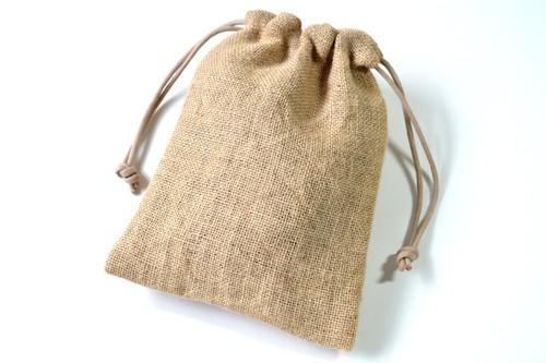 ポンっと入れてバッグの中をすっきりお片付けシンプルが使いやすい・巾着袋 コーヒー 袋 豆 coffee【Simple】