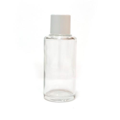 容器 ガラスローションボトル(クリア)80ml
