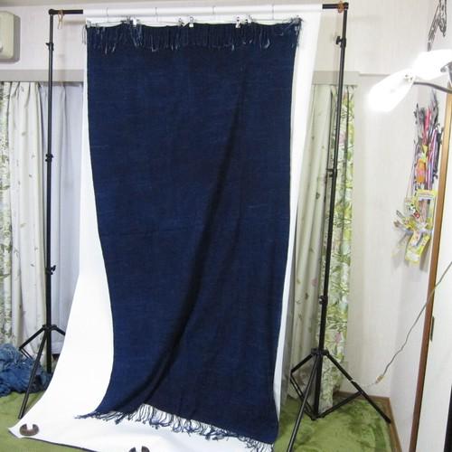 ヴィンテージ・藍染・インディゴ布 LLサイズ