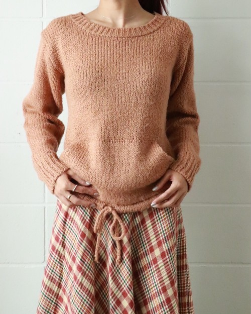 70's camel sweater