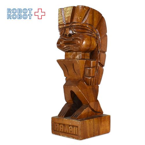 木製 ティキ ハワイアン TIKI ハワイ