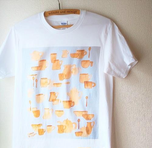 コーヒーイラスト  Tシャツ