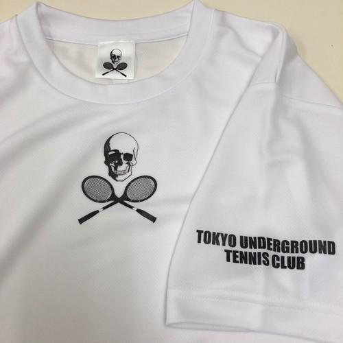 [8/1再入荷] ビッグスカルゲームシャツ ホワイト GS-001