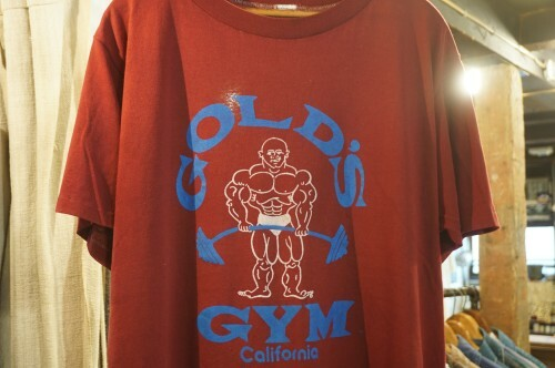 80's GOLD'S GYM California 50/50 Tee