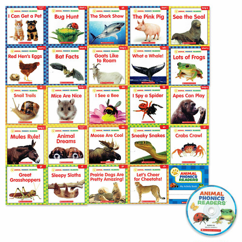 「Animal Phonics Readers 」24 冊CD付きセット