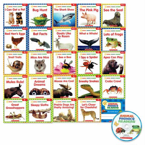 「Animal Phonics Readers 」24 冊CD付きセット