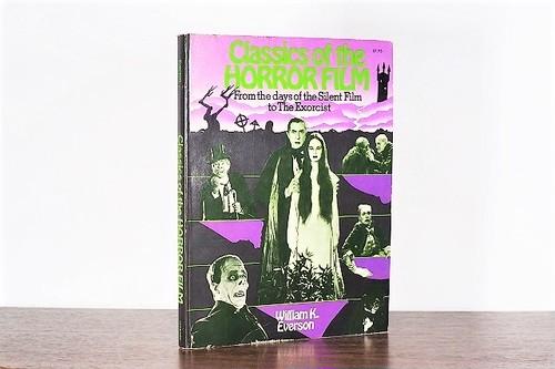 Classics of the HORROR FILM /display book