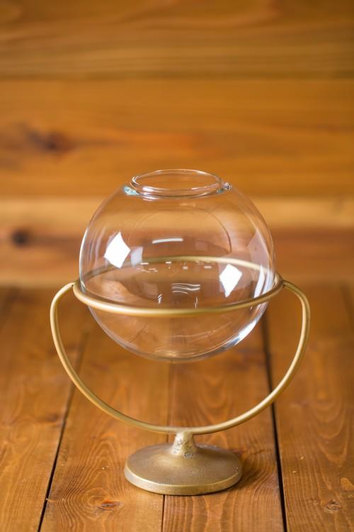 NEW【お盆・お供え・仏花】花器-ジャルムグラス&スタンド-