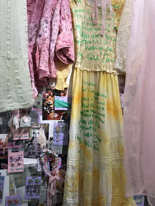 """Hannah Maria's """"She shed of Anxiety"""" Dress"""