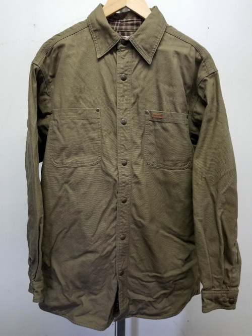 Carhartt Canvas Flannel-Lined Shirts 【Fq1111】