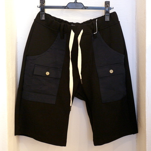 Jersey Bush Shorts Black