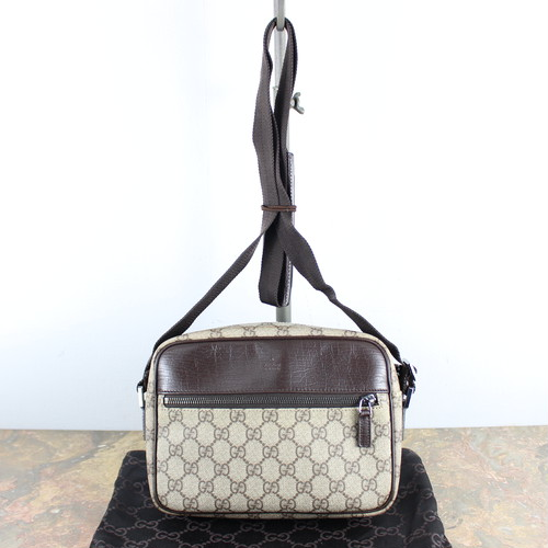 .GUCCI GG PATTERNED SHOULDER BAG MADE IN ITALY/グッチGG柄ショルダーバッグ2000000048475