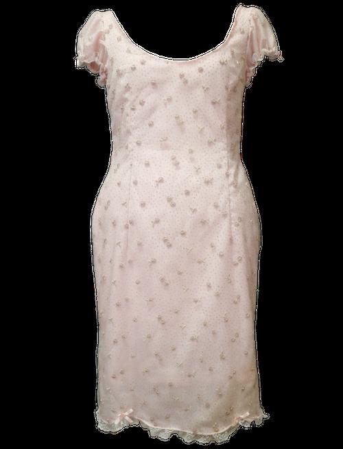 CHAMPAGNE  DRESS ROSE シャンパン ワンピース ローズ