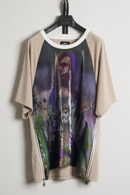 Organza T-Shirts-Jesus / Beige [21SS COLLECTION]