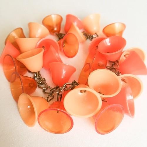 orange bell bracelet[h-89]